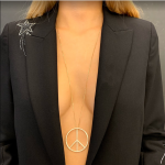 "COLLIER-SAUTOIR ""PEACE & LOVE"""
