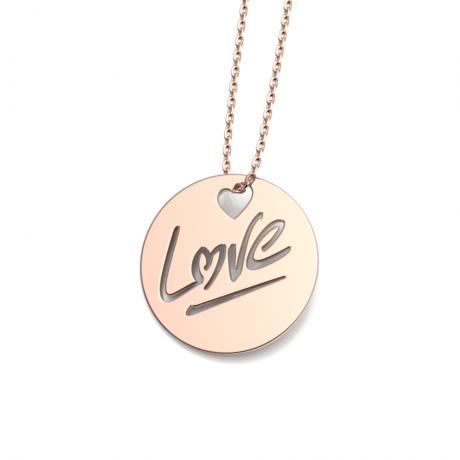"""Médaille """"LOVE"""" L"""