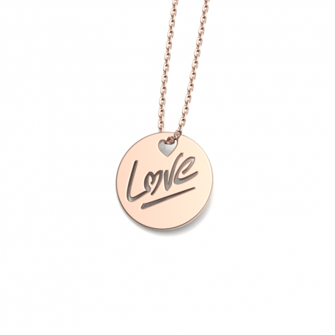 """Médaille """"LOVE"""" S"""
