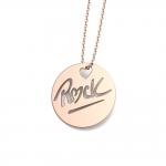 """Médaille """"ROCK"""" L"""