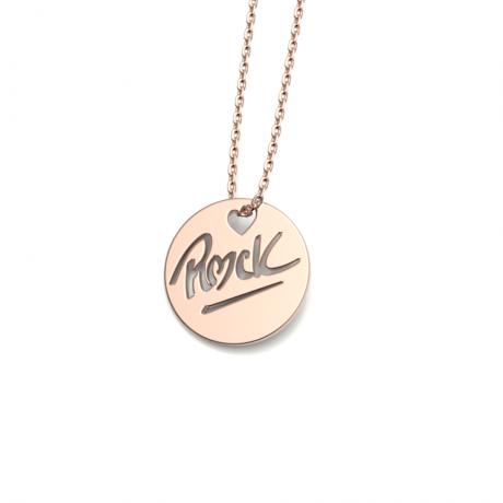 """Médaille """"ROCK"""" S"""