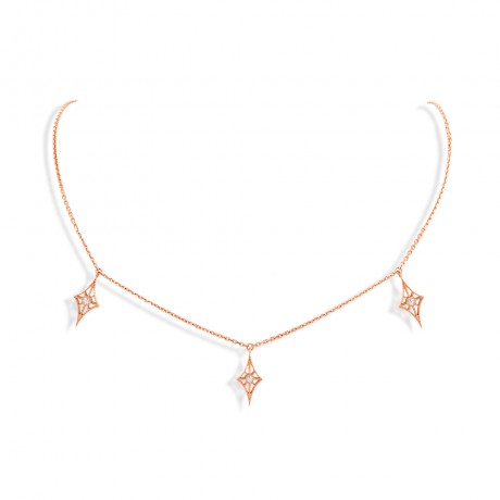 "COLLIER ""CHEYENNE "" MINI-LOSANGE"