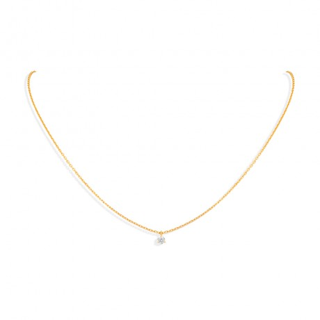 """COLLIER """"DIANA"""" 0.10 CT"""
