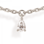 collier 7 pampilles diamants poires