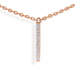 "collier "" hash "" 5 barrettes diamants"