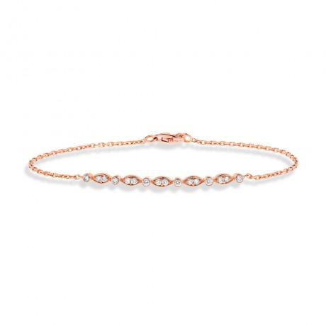 """bracelet chaine """"ambre"""""""